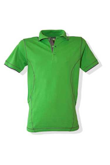 Poloshirt Magnus Lemon & Soda (ook in damesmodel)